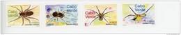 Cap Vert-Cabo Verde-2001-Araignées-769/72***MNH - Insekten