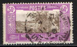 NUOVA CALEDONIA - 1928 - BAIA DI PALETUVIERS - USATO - Nuova Caledonia