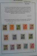 Montenegro: 1941/45: Fantastic MNH And Mint Hinged Collection Montenegro 1941-1945 In Blanc Album. C - Montenegro