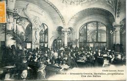 N°1830 A -cpa Rouen -brasserie Omnia -Bertallot Propriétaire- - Ristoranti