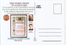 FAMOUS PEOPLE, NOBEL PRIZE LAUREATS, PIERRE AND MARIE CURIE, PHYSICS - Prix Nobel
