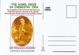 FAMOUS PEOPLE, NOBEL PRIZE LAUREATS, SIR WILLIAM RAMSEY, CHEMISTRY - Prix Nobel