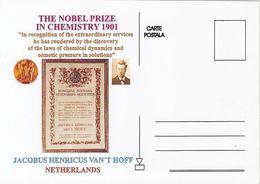 FAMOUS PEOPLE, NOBEL PRIZE LAUREATS, JACOBUS HENRICUS VAN'T HOFF, CHEMISTRY - Prix Nobel