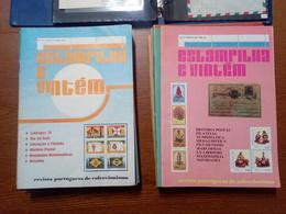 Revista Estampilha E Vintém Portugal Filatelia Numismática 1978 - 82, Completa - Revistas