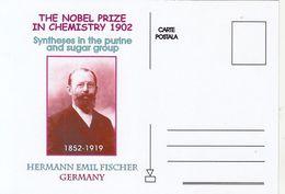 FAMOUS PEOPLE, NOBEL PRIZE LAUREATS, HERMANN EMIL FISCHER, CHEMISTRY - Prix Nobel