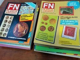 Revista FN - Filatelia Numismática, Portugal, Completo Do Nº 1 Ao 35, 1981/84 - Revistas