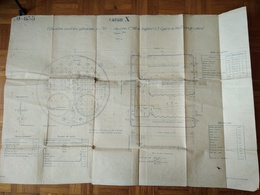 Plan CARGO X - ST NAZAIRE MARS 1911 - Macchine