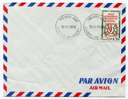 RC A10063 TAAF N° 27 DROITS DE L'HOMME SUR FDC 1er JOUR TB - Terres Australes Et Antarctiques Françaises (TAAF)
