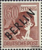 Berlin (West) 14 Unmounted Mint / Never Hinged 1948 Black Imprint - [5] Berlin