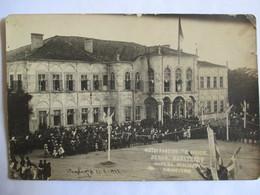 GRECE - KOMOTINI - Rue Benizelou (?) - Rare Carte-Photo Datée Du 21/5/1922 - Célébration - ( Voir Annonce ) BE - Greece
