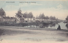 Bourg-Léopold Canal Et Bassin De Natation Circulée En 1922 - Leopoldsburg