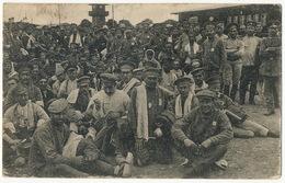 Prisoner Camp Ohrdruf Russische Typen Russians  Jacob To L' Hermenault Vendée France - Allemagne