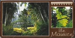 MAURITIUS - CASA COLONIALE - FORMATO LARGO11X21 - VIAGGIATA 1997 FRANCOBOLLO ASPORTATO - Mauritius