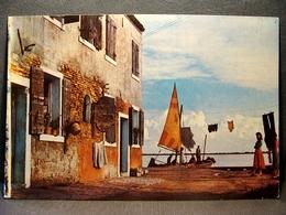(FG.K27) BURANO Di VENEZIA - SCORCIO Animata (NV) - Venezia