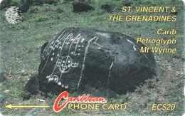 *IS. ST. VINCENT & THE GRENADINES: 7CSVB* - Scheda Usata - Saint-Vincent-et-les-Grenadines