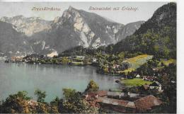 AK 0036  Traunkirchen - Steinwinkel Mit Erlakogl / Verlag Brandt Um 1907 - Traun