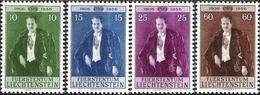 Liechtenstein 1956: Fürst Franz Josef II (1906-1989) Zu 292-295 Mi 348-351 Yv 309-312 ** MNH (Zumstein CHF 25.00) - Liechtenstein