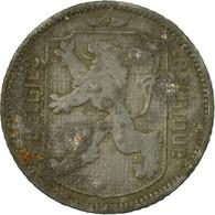 Monnaie, Belgique, Franc, 1942, TB+, Zinc, KM:128 - 1934-1945: Leopold III