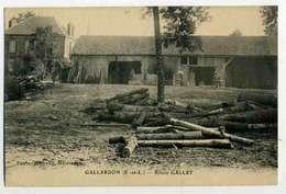 GALLARDON  Scierie GALLET, Tronc Et Ateliers - Autres Communes