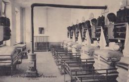 Nivelles Ecole Régimentaire Des Grenadiers Le Dortoir Circulée En 1919 - Nijvel