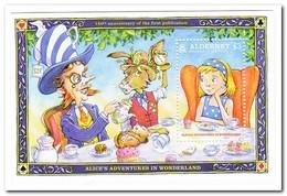 Alderney 2015, Postfris MNH, Alice In Wonderland - Alderney