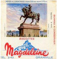 BUVARD(BISCOTTE MAGDELEINE) GRANVILLE - Biscotti