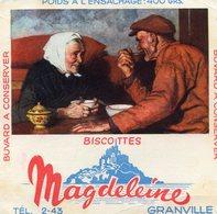 BUVARD(BISCOTTE MAGDELEINE) GRANVILLE - Biscottes