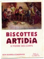 BUVARD(BISCOTTE ARTIDIA) SAINT PIERRE DES CORDES - Biscotti