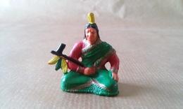 FIGURINE INDIEN  Assis Avec Calumet CLAIRET - Armee