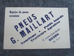 PNEUS G. MAILLARD - Tourisme-Poids Lourds-Tracteurs Agraires - Automobile