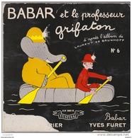 45 T BABAR ET LE PROFESSEUR GRIFATON - Children