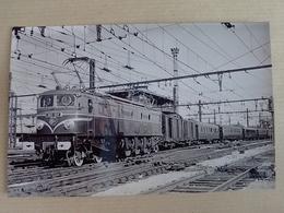 89 LAROCHES MIGENNES  2 D 2- 9110 LE  29  AOUT 1950 TRAIN OFFICIEL D INAUGURATION LAROCHES MIGENNES PARIS (Le Retour - France