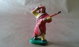 FIGURINE INDIEN  Guetteur Avec Fusil CLAIRET - Army