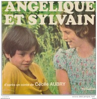 45 T ANGELIQUE ET SYLVAIN CECILE AUBRY - Enfants