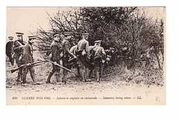 Guerre 1914 1918 Cpa Guerre 1915 Infanterie En Embuscade Militaire Soldat Soldats - Guerre 1914-18