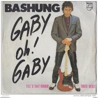 45 T ALAIN BASHUNG GABY OH GABY - Vinyl Records