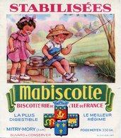 BUVARD(BISCOTTE MABISCOTTE) MITRY MORY(PECHEUR) - Biscottes