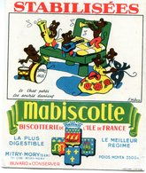 BUVARD(BISCOTTE MABISCOTTE) MITRY MORY(CHAT_SOURIS) - Biscottes