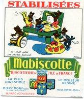 BUVARD(BISCOTTE MABISCOTTE) MITRY MORY(CHAT_SOURIS) - Biscotti