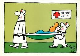 Illustrateurs - IIlustrateur Trez - Enghien Les Bains - Santé - Croix Rouge - Solidarité - Trez
