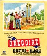 BUVARD(BISCOTTE GREGOIR) LEVALLOIS PERRET(ARLES) - Biscottes