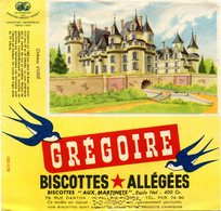 BUVARD(BISCOTTE GREGOIR) LEVALLOIS PERRET(USSE) - Biscottes