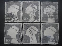 ALLEMAGNE FEDERALE N°49 X 6 Oblitéré - Vrac (max 999 Timbres)