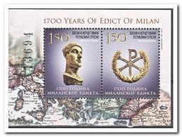 Servië 2013, Postfris MNH, 1700 Years Edict Of Milan - Indonesië