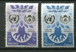 Libye ** - N* - 175/176 - Journée Du Réfugié - Libye