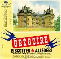 BUVARD(BISCOTTE GREGOIR) LEVALLOIS PERRET(LE LUDE) - Biscottes