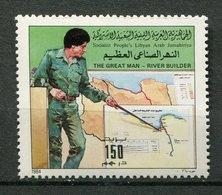 Libye ** - N* - 1243 - Construction D' Un Aqueduc - Libye