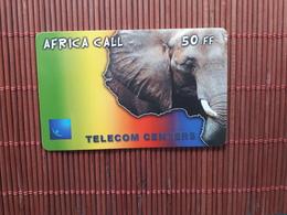 Elephant Phonecard Used - Télécartes