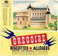 BUVARD(BISCOTTE GREGOIR) LEVALLOIS PERRET(AMBOISE) - Biscottes