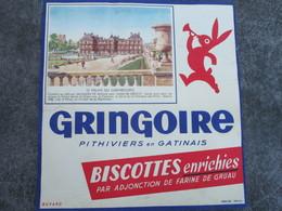 GRINGOIRE - Le Palais Du Luxembourg - Biscottes